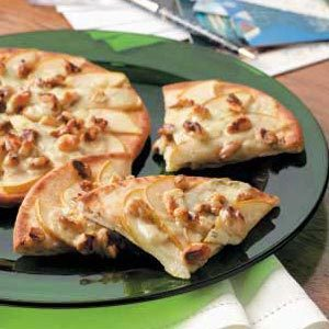 Pear Pizza Wedges