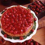 Creamy Cherry Cheesecake
