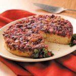 Cranberry Cornmeal Cake