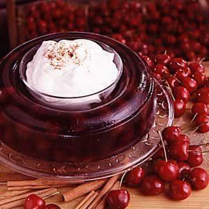 Cherry Cinnamon Dessert Ring