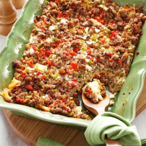 Egg and Sausage Strata