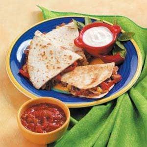 Sausage Quesadillas