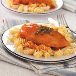Tomato-Basil Chicken Breasts