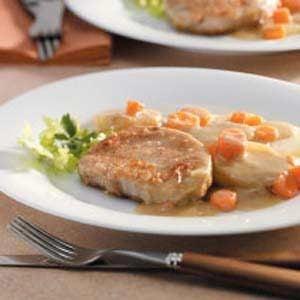 Creamy Pork Chop Dinner