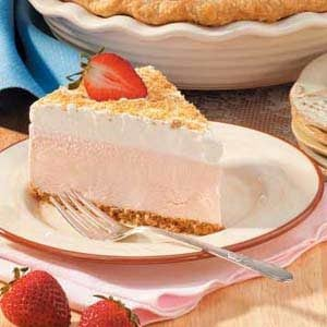 Strawberry Ice Cream Dessert