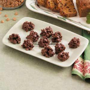 Crunchy Fudge Drops