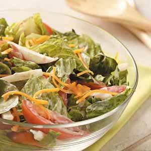 Jicama Romaine Salad