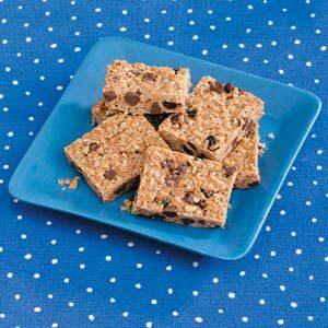 Homemade Chewy Granola Bars