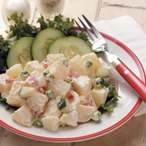 Tangy Potato Salad for Two