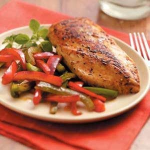 Lemon Chicken and Peppers