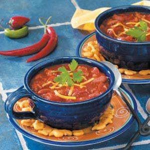 Spicy Ground Turkey  Chili