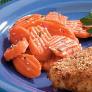 Sesame Carrot Slices