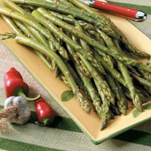 Spicy Asparagus Spears