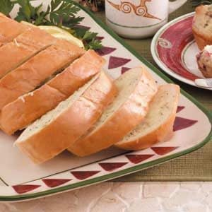 Dijon Poppy Seed Cheese Bread