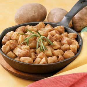 Golden Diced Potatoes