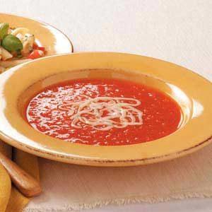 Red Pepper Tomato Soup