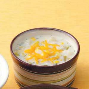 Corn Leek Chowder