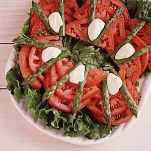Asparagus and Tomato Salad