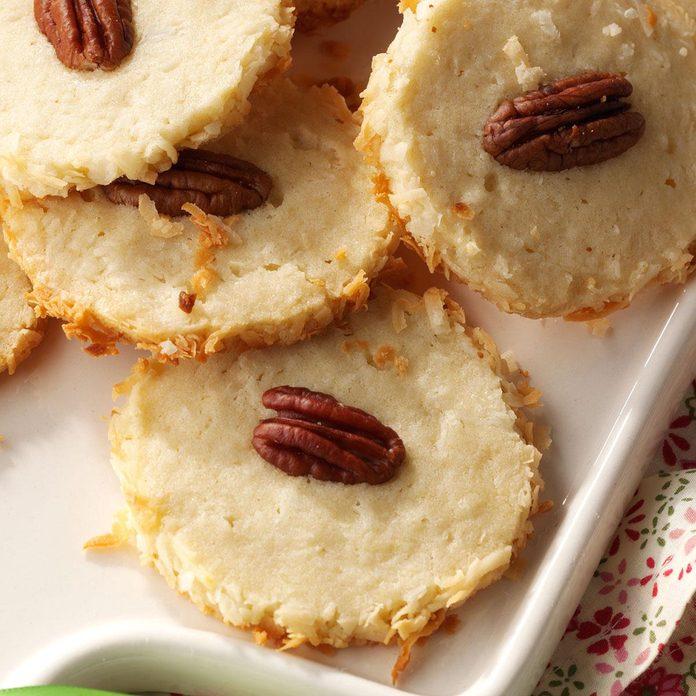 Best Coconut Pecan Cookies