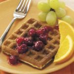 Cran-Orange Waffles