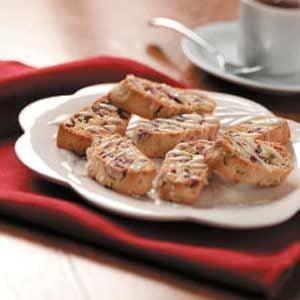 Pistachio Cranberry Biscotti