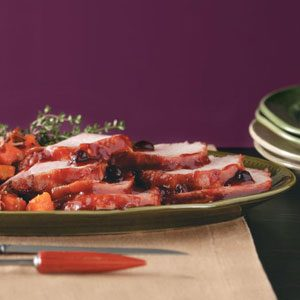 Easy Cranberry-Glazed Pork Roast