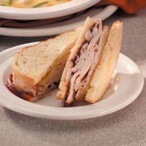 Turkey 'n' Swiss Sandwiches