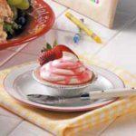 Strawberry Swirl Mousse Tarts