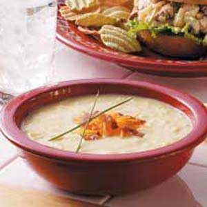 Speedy Spud Soup