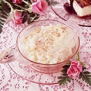 Old-Fashioned Rice Custard