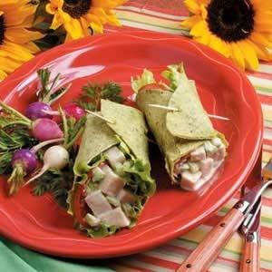 Turkey Salad Wraps