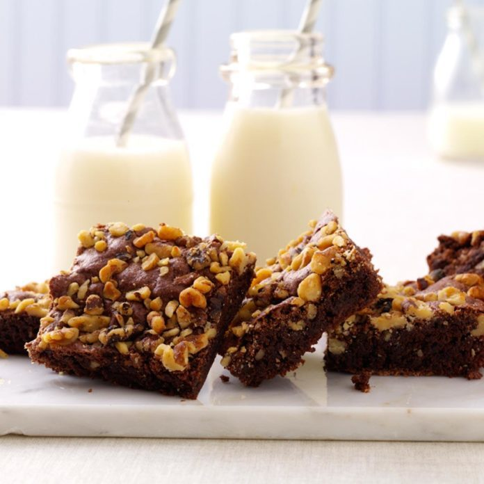 Ohio: Fudge Nut Brownies