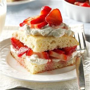 Inspired by: Strawberries & Cream Shortcake