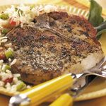 Herb-Rubbed Pork Chops