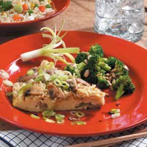 Asian Oven Omelet