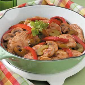 Pork and Veggie Saute