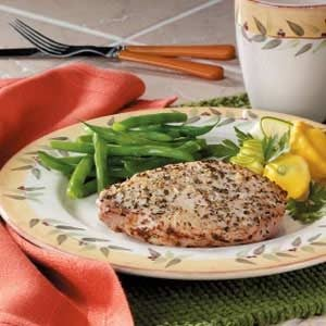 Italian Rubbed Pork Chops