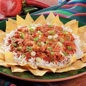 Tex-Mex Rice and Bean Snack