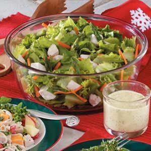 Curried Chicken Tossed Salad