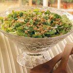 Sesame-Almond Romaine Salad