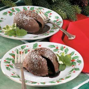 Makeover Molten Chocolate Cakes