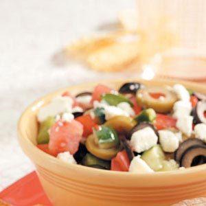 Fresh Greek Garden Salad