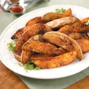 Chili-Seasoned Potato Wedges