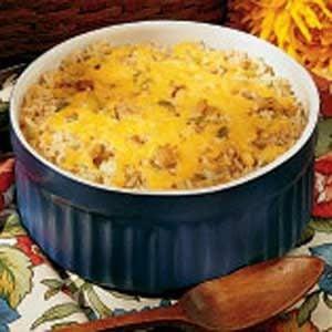 Seafood Rice Casserole