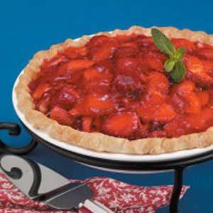 Flaky Strawberry Pie
