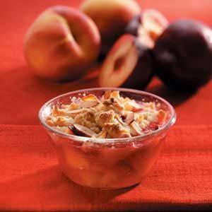 Almond Fruit Crisp