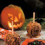Halloween Caramel Apples