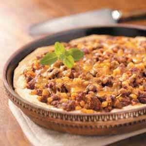 Venison Taco Pie
