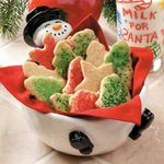 Almond Cookie Cutouts