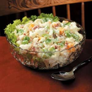 Bacon Cauliflower Salad